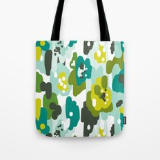 Painted Camo Tote Bag