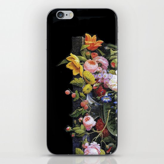Victorian Flowers&Fruits iPhone & iPod Skin