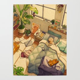 Afternoon Nap Poster