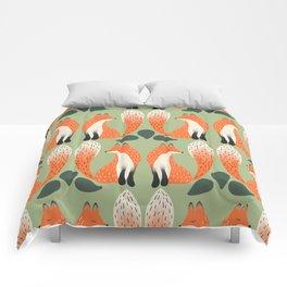 Fox Lore Friends Comforters