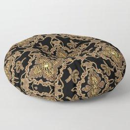 Beaded Baroque Floor Pillow