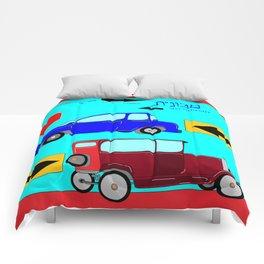 Car, Carro, Coche, Voiture, Wagen Comforters