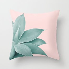 Agave Finesse #3 #tropical #decor #art #society6 Throw Pillow