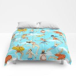 Pool Rats Comforters