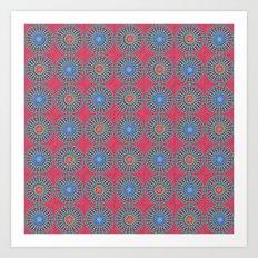 Spinners Pattern Art Print
