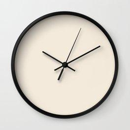 Rose Petal Cream Wall Clock