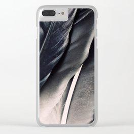Dark Wing #1 Clear iPhone Case