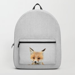 Baby Fox - Colorful Backpack