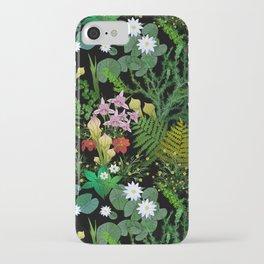 Botanical Bog iPhone Case