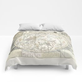 Star map of the Southern Starry Sky Comforters