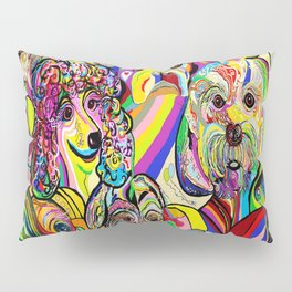 Dogs, DOGS, DOGS!! Pillow Sham