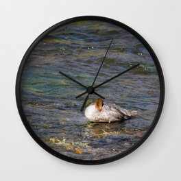 Lazy River Wall Clock