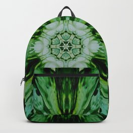 Green Starburst 2 Backpack