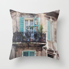 New Orleans - Close Your Eyes and Dream Throw Pillow