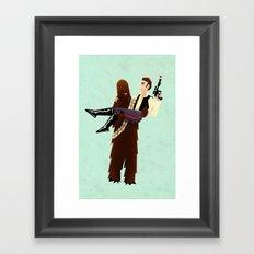 Wookielove Framed Art Print