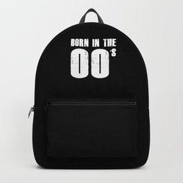 Born in 2000s Generation Z Gen Z Millenials Gift Backpack