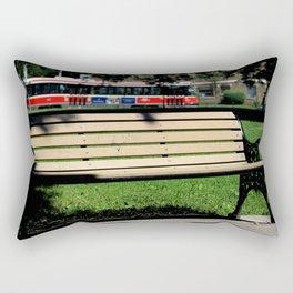 Red Rocket 29 Rectangular Pillow