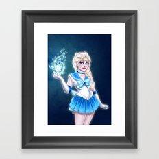 Sailor Frozen Framed Art Print