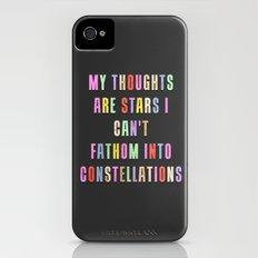 Constellations Slim Case iPhone (4, 4s)