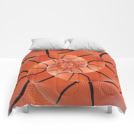 Droste Basketball Spiral  Comforters
