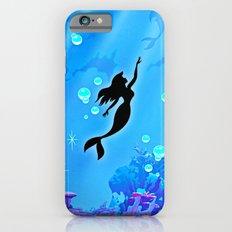 Beauty Mermaid Blue Sea Slim Case iPhone 6s