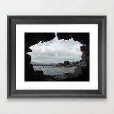 Peepshow Framed Art Print