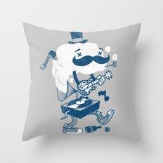 Mister Noisy Throw Pillow