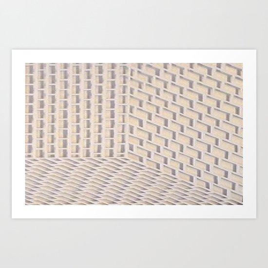 Boxes Art Print
