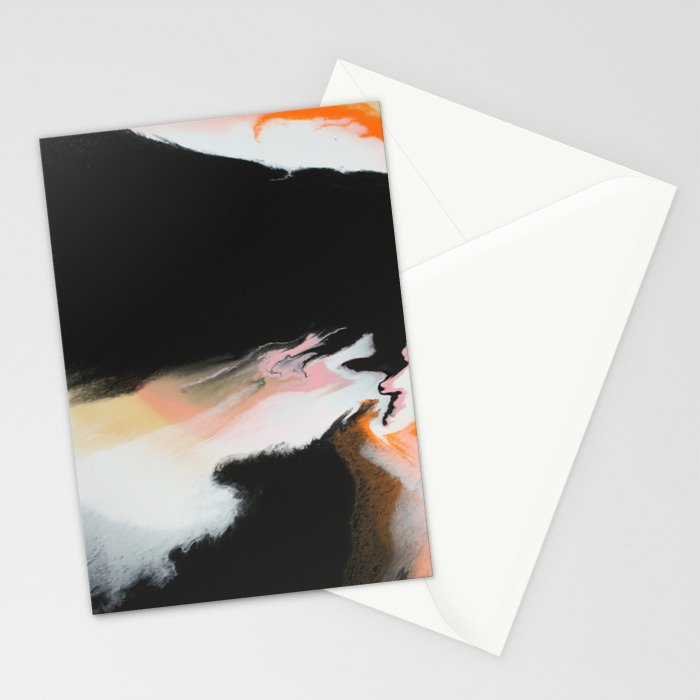 Lava Flow Stationery Cards