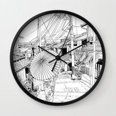 Kyoto - the old city Wall Clock