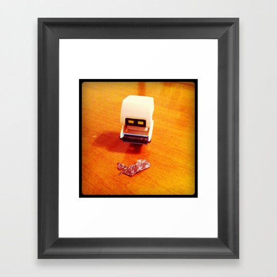 Foreign Contaminant. Framed Art Print