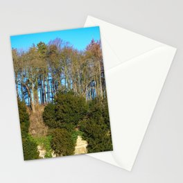 Trees on a Limestone Outcrop Stationery Cards