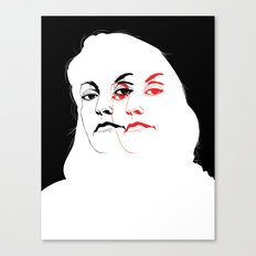 Who is Laura Palmer? Canvas Print