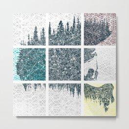 Fullface colors Metal Print