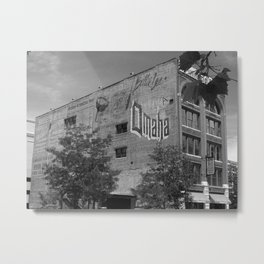 Advertising History Metal Print