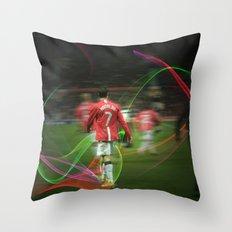Ronaldo Remix Throw Pillow