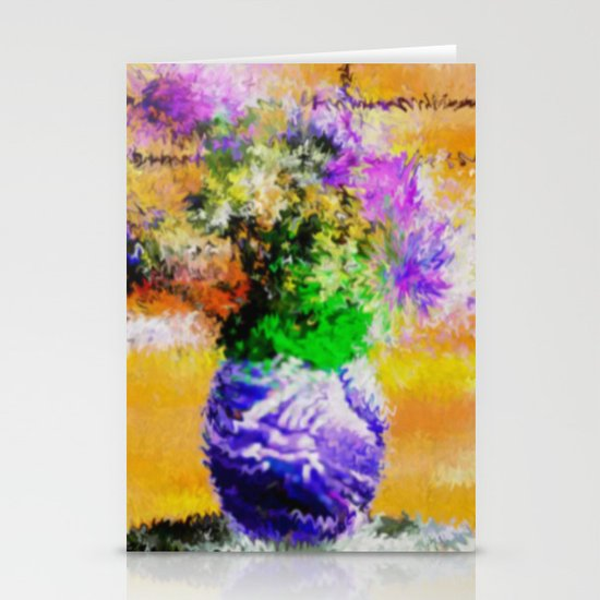 Floral still lifes. Stationery Cards