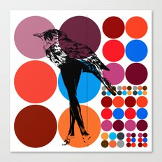 poster heroine  Canvas Print