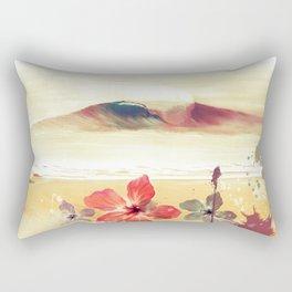 Desde la orilla Rectangular Pillow