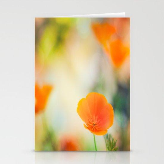 Poppy Rainbow Stationery Cards