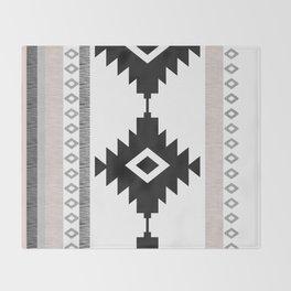 Pueblo in Pink Throw Blanket