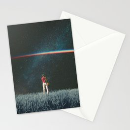 Saw The Light Stationery Cards
