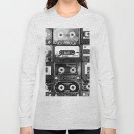Something Nostalgic - black and white #decor #buyart #society6 Long Sleeve T-shirt