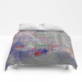 flower pattern color explosion Comforters
