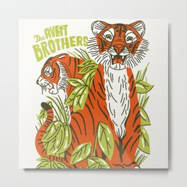 avett brothers album ansel12 Metal Print
