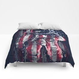 Astronaut Flag Comforters