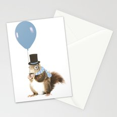 party squirrel Stationery Cards
