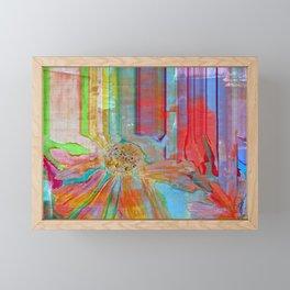 Floral Lines Framed Mini Art Print