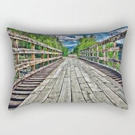 The steps to heaven Rectangular Pillow