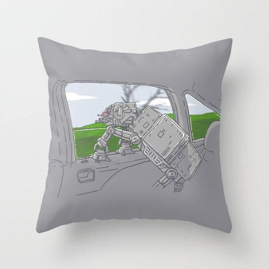 Cruisin' Walker Throw Pillow